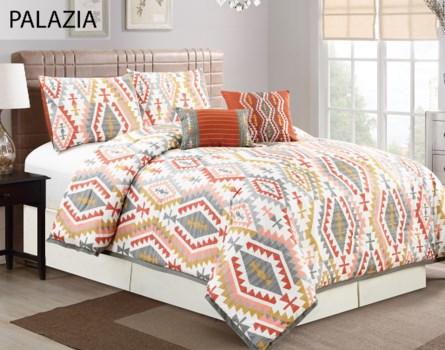 Palazia 5 pc Queen Comforter Set