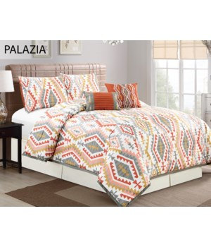 Palazia 5 pc Queen Comforter Set