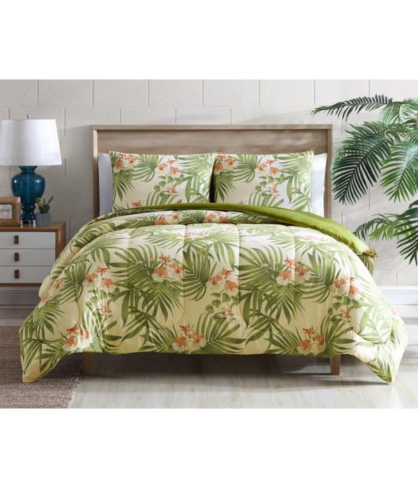 Palm Delight 3 pc Full/Queen Comforter Set