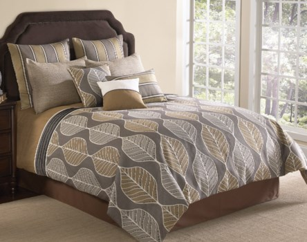 Branson 9 pc Queen Comforter Set