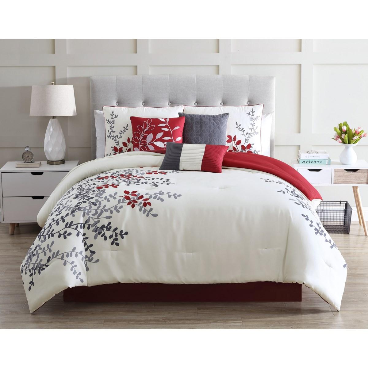 Prendle 7 PC King Comforter Set