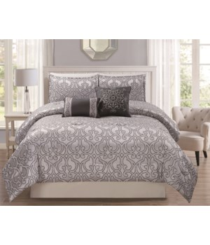 Sabedo 5 pc Queen Comforter Set