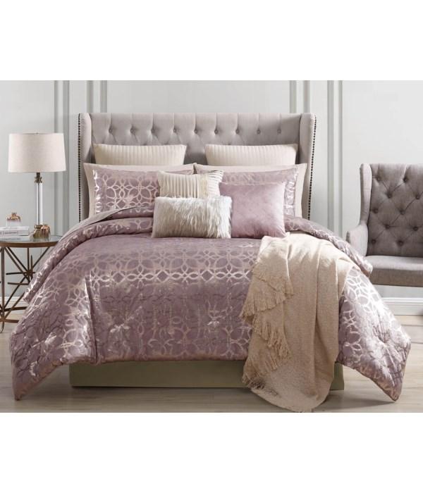 Sacha 10 pc Queen Comforter Set