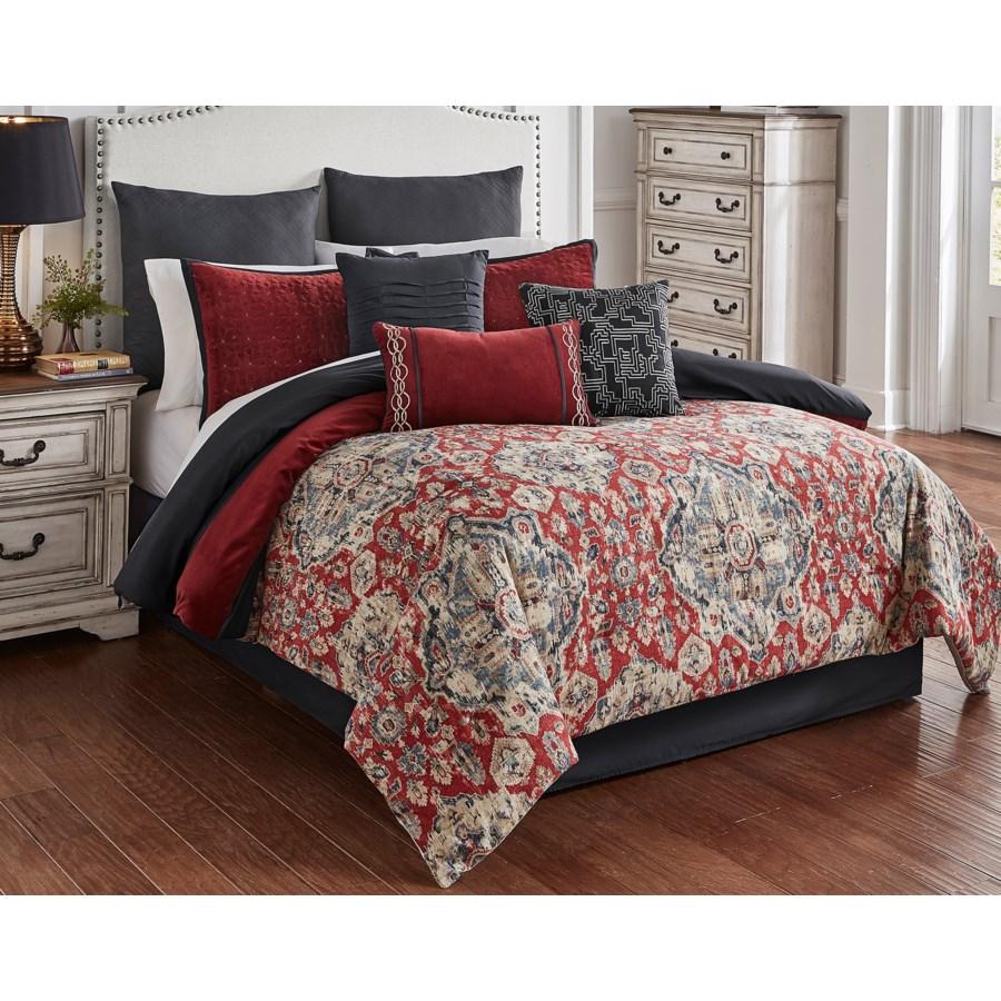 Stewart 9 pc Queen Comforter Set