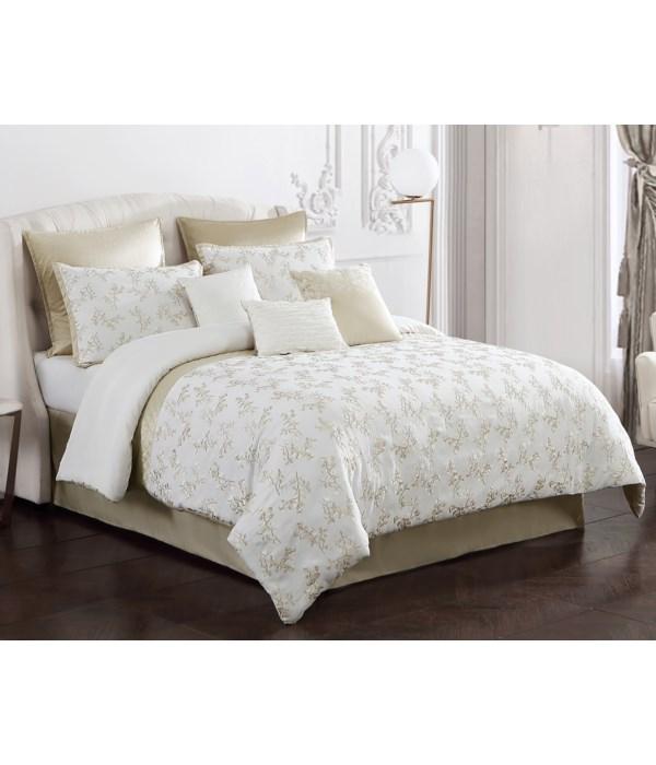 Tinsley 9 pc Queen Comforter Set*EXPERIMENTAL