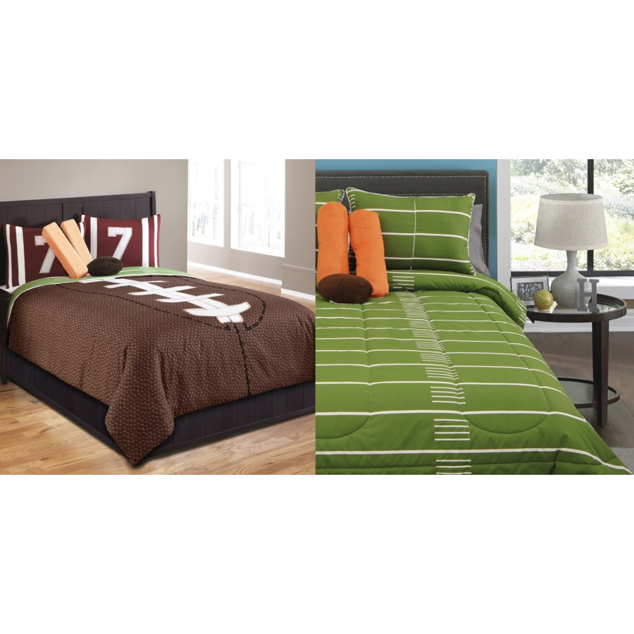 Touchdown 5 pc Twin Comforter Set (*NO SKIRT INCLUDED*)