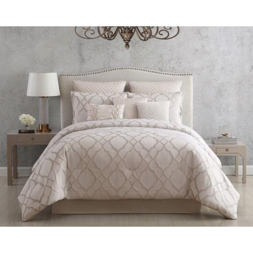 Trinity 9PC Queen Comforter Set