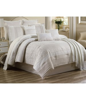 Uma 10 pc Queen Comforter Set