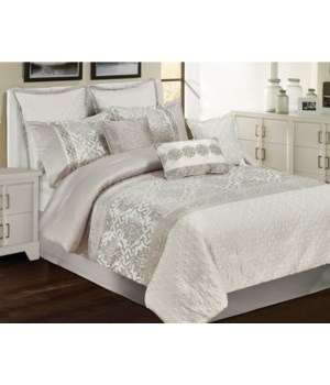 Wendover 9 pc Queen Comforter Set
