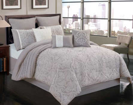 Worthington 9 pc Queen Comforter Set