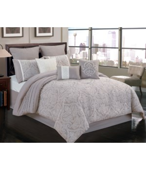 Worthington 9 pc Queen Comforter Set