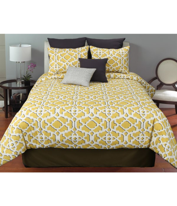 Yellowstone 6 pc Queen Comf. Cover Set