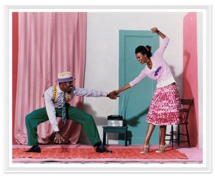 "Vogue Magazine, ""Pair Dancing"", Arthur Elgort, June 2005"