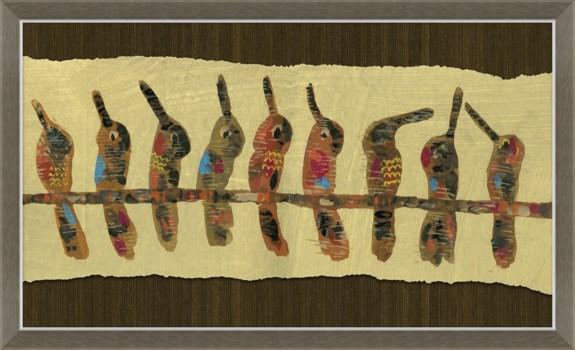 Birds on a Wire - Peruvian Sketchbook