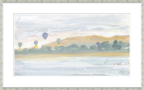 Hot Air Baloons Along Nile River, Egypt Sketchbook