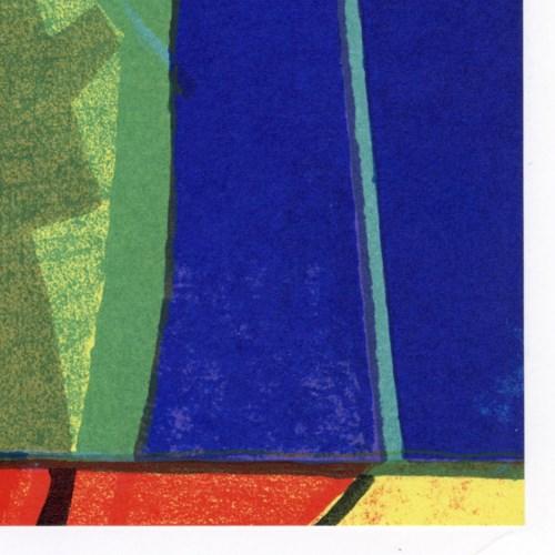 """""""Arizovert"""" - Maurice Esteve. Original Lithograph From XXe Siecle No.39 (1972)"""