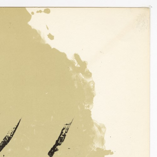 """Composition"" Original Lithograph From Antoni Tapies From ""Derriere Le Miroir No. 175"" (1968)"