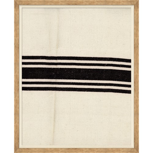Vintage French Sack Cloth in Black