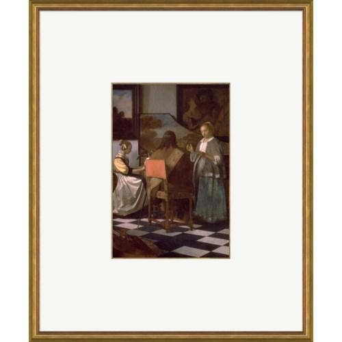 The Concert  -   Johannes Vemeer