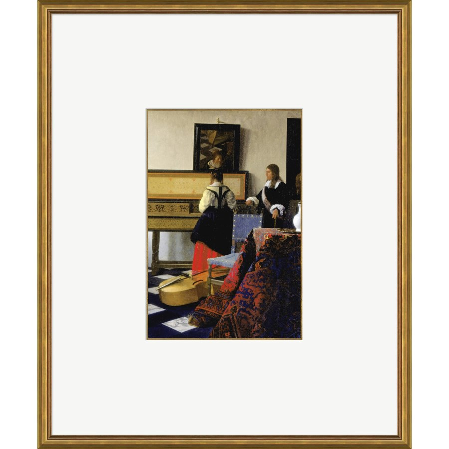 The Music Lesson   -   Johannes Vemeer