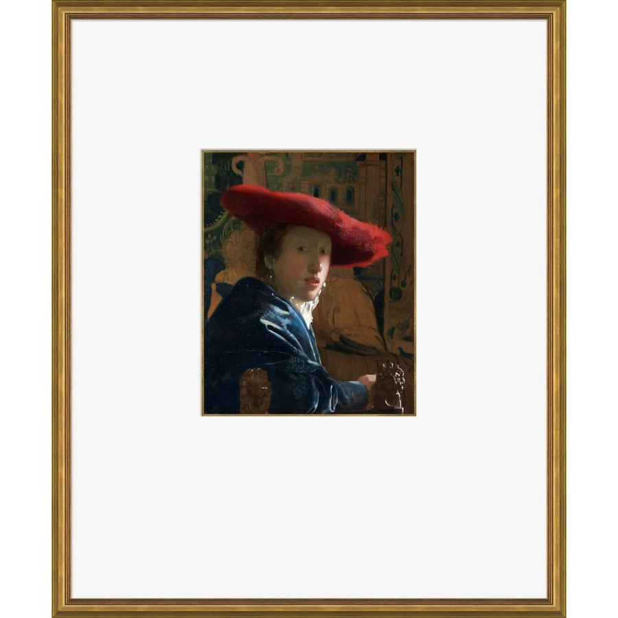Girl with the Red Hat-  Johannes Vemeer