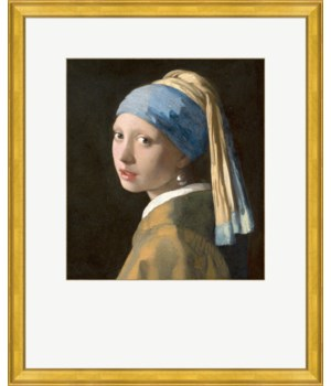 The Girl with a Pearl Earring - Johannes Vemeer