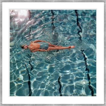 "Vogue Magazine, ""Women in Swimming Pool"", Fred Lyon, June 1960"