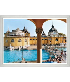 "Traveler, ""Baroque Szechenyi Baths"", Lisa Limer, Junauary 2011"