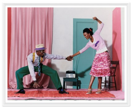 "Vogue Magazine, ""Pair Dancing"", Arthur Elgort, June 2005"