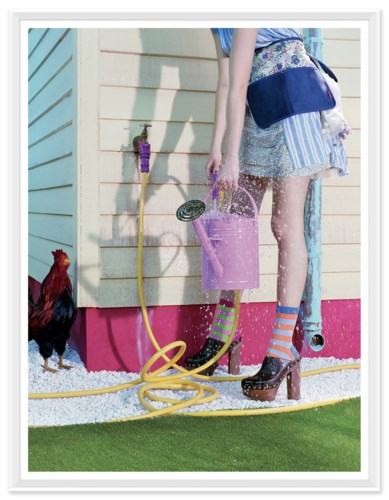 "Teen Vogue, ""Growth Spurt"", Miles Aldridge, March 2010"