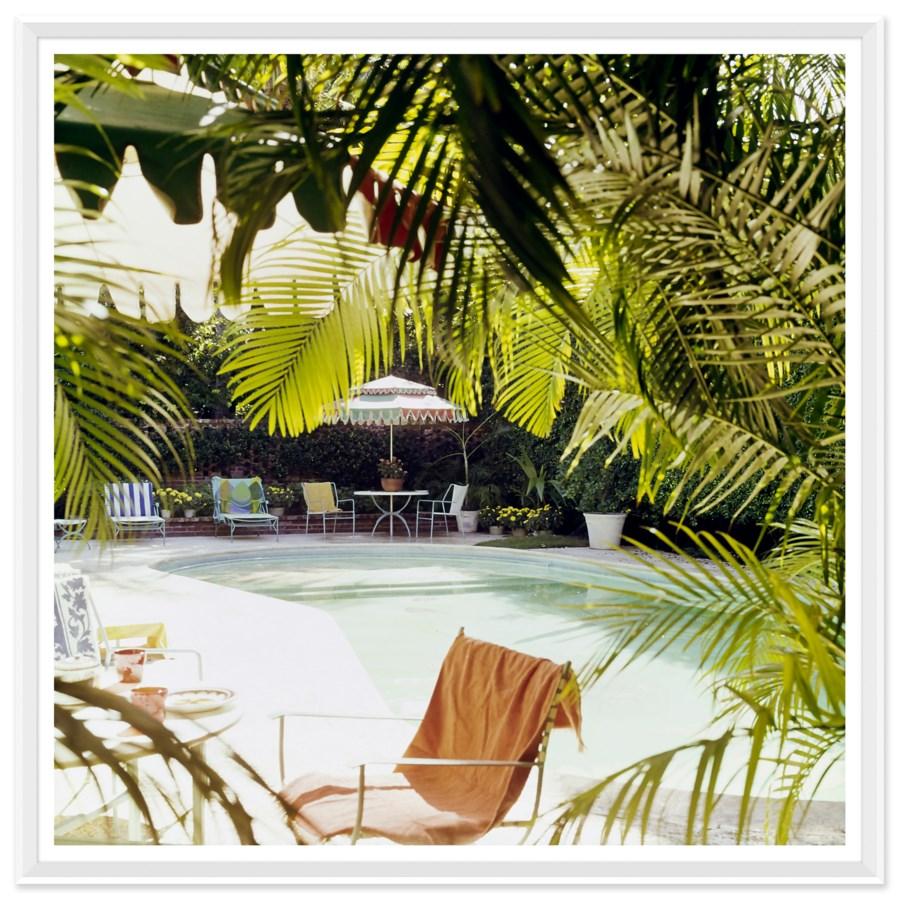 "Vogue Magazine, ""Swimming Pool at Lilly Pulitzer's"", Horst P Horst, January 1975"