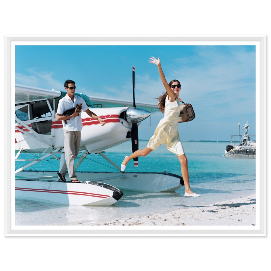 "Vogue Magazine, ""Arrival"", Arthur Elgort, April 1999"