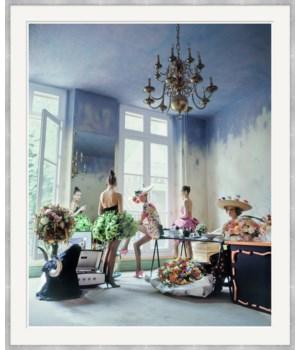 "Lucky Magazine, ""Christian Lacroix's Paris studio"", Arthur Elgort, November 2013"