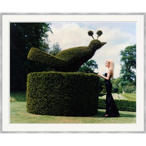 "Vogue Magazine, ""Kirsty Hume, In Long Black Dress"", Arthur Elgort, September 1995"