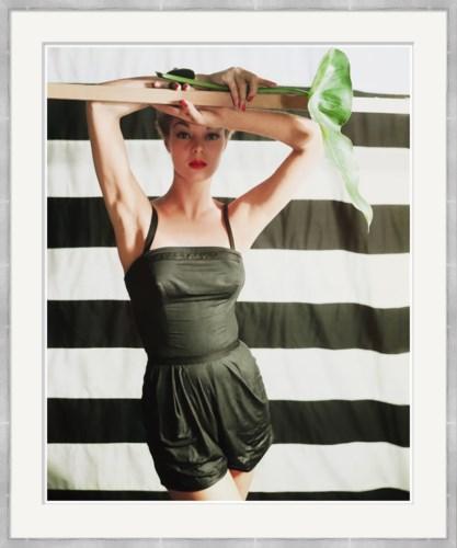 "Vogue Magazine, ""Jean Patchett in Sunsuit,"" Horst P. Horst, January 1951"