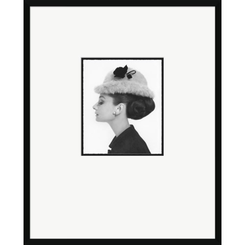 "Vogue Magazine Cover, ""Audrey Hepburn,"" Artist- Cecil Beaton, August 15, 1964"