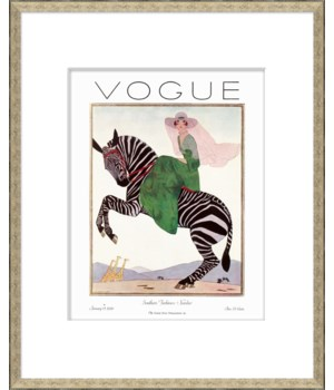 "Vogue Magazine Cover, ""Southern Fashions"""
