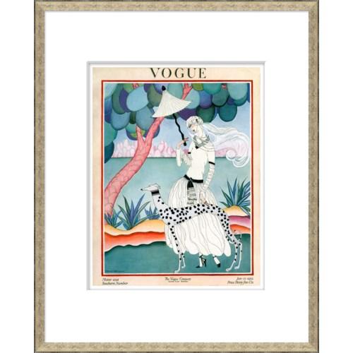 """Vogue Magazine Cover, """"Walking Dog"""""""