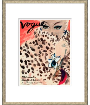 "Vogue Magazine Cover, ""Leopard Cat Woman"""
