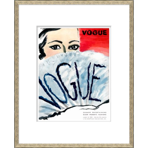 "Vogue Magazine Cover, ""Summer Entertaining"""