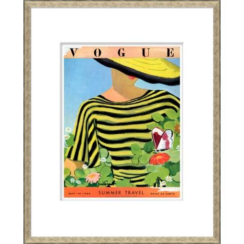 "Vogue Magazine Cover, ""Summer Travel"""