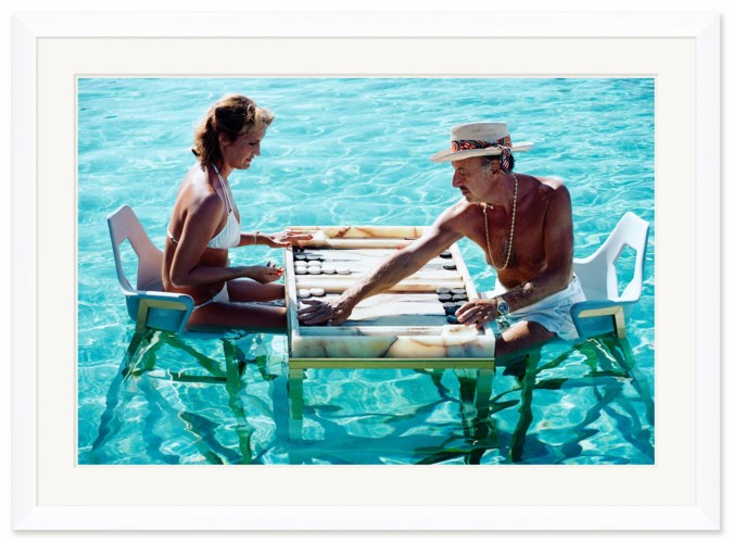 """Getty Images """"Keep Your Cool,"""" Slim Aarons, January 1, 1978"""