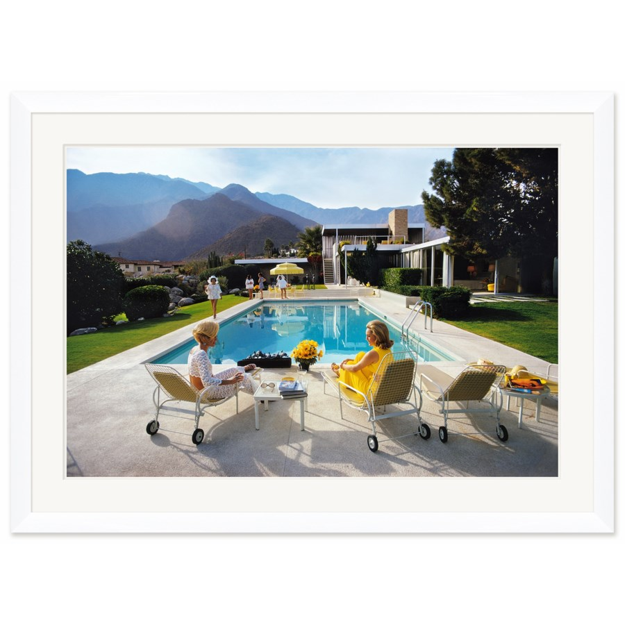 """Getty Images """"Poolside Glamour,"""" Slim Aarons, January 1, 1970"""