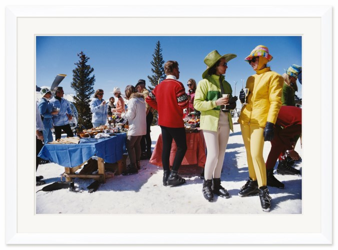 "Getty Images ""Snowmass Gathering,"" Slim Aarons, April 1, 1968"