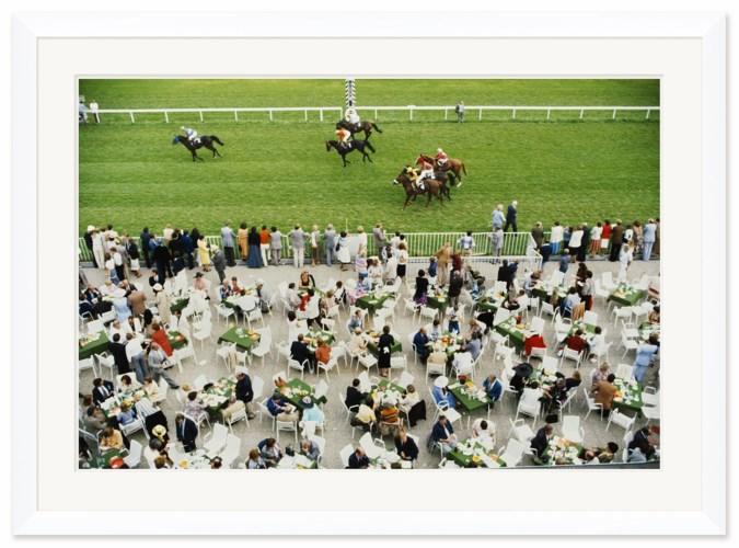 "Getty Images ""Racing at Baden Baden,"" Slim Aarons, September 1, 1978"