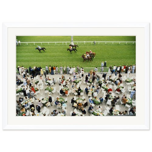 "Getty Images ""Racing at Baden Baden,"" Slim Aarons, September 1, 1978"