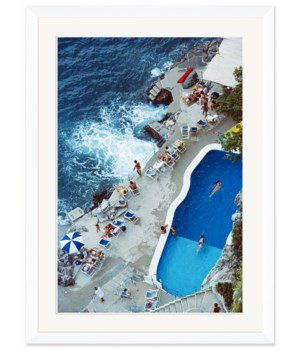 "Getty Images ""Pool on Amalfi Coast,"" Slim Aarons, September 1, 1984"