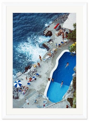 """Getty Images """"Pool on Amalfi Coast,"""" Slim Aarons, September 1, 1984"""