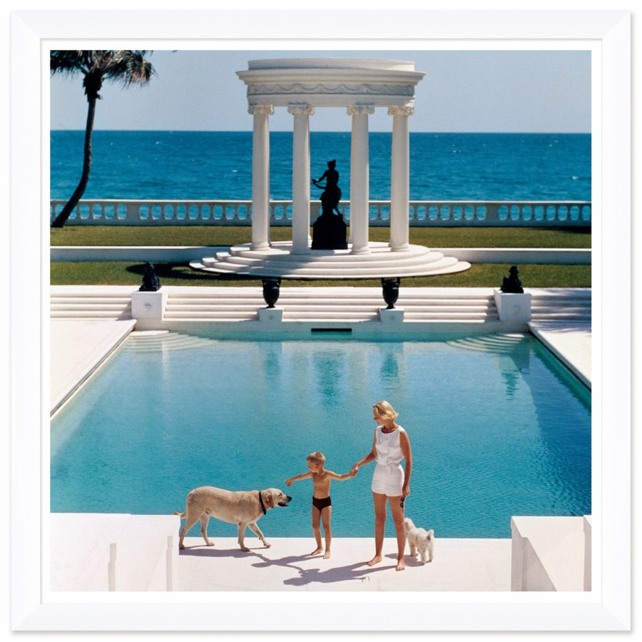 "Getty Images ""Nice Pool,"" Slim Aarons, January 1, 1955"