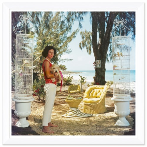 "Getty Images ""Gloria Schiff,"" Slim Aarons, January 1, 1963"